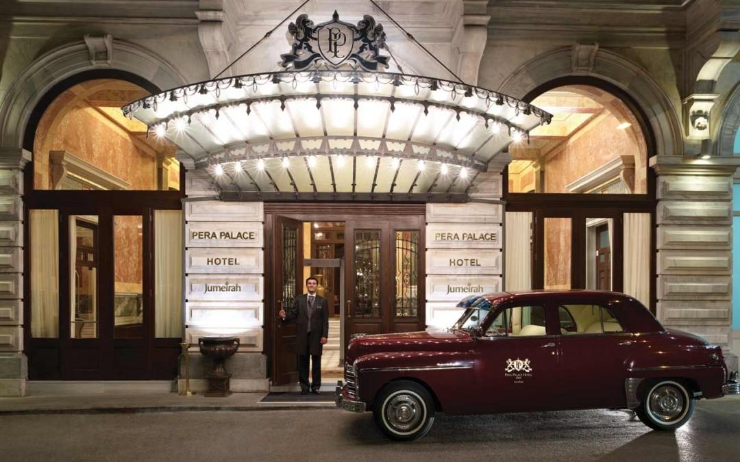 Pera Palace Hotel und das Goldene Horn