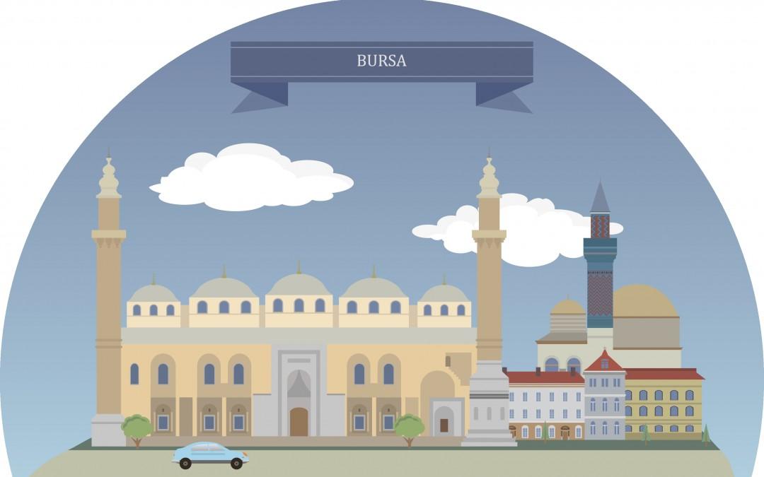 Bursa in der Türkei